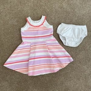Janie and Jack Dress & Bloomers 12-18 months